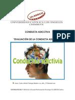 Conducta Adicctiva