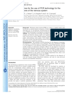 EFNS Guideline PCR Diagnosis of Infectious Diseases CNS