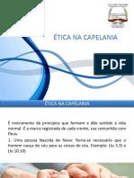 02 - 01 - Ética Na Capelania
