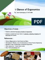 P1 - Ergo - Introduction
