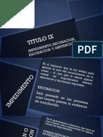 Titulo Ix Cpc Grupo 7
