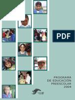 Programa de Educación Preescolar 2004 México