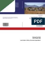 eBook. Land Grabs in Africa, Econ. Imperialism, George Forji & JAHA