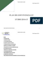 Plan de Convivencia 14-15 Primaria