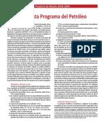 Amlo Propuesta Programa del Petróleo