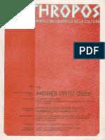 Andrés Ortíz-Oses. Antropología Hermenéutica - VV.aa