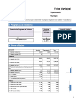 Ficha Municipal Web - DNP