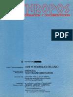 José Manuel Rodríguez Delgado. Medicina - VV.aa