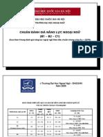 Chuan Kien Thuc Ki Nang Ngoai Ngu B1- B2 - C1
