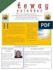 Gateway Newsletter Summer 2018