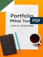 Portfolio Mihai Toma