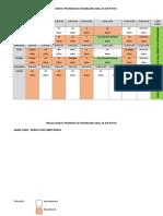 Contoh Jadual Waktu Pra 2018