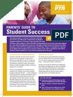 pta parent guide for success 6th grade