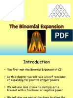 3 c4 the Binomial Expansion