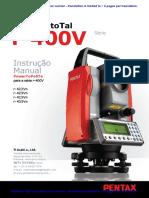 Pentax R-425VN - Manual Completo PT