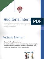 Auditoria Interna I