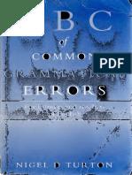 TURTON, Nigel - ABC of Common Grammatical Errors.pdf