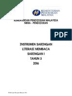 INSTRUMEN LITERASI MEMBACA SARINGAN 1 TAHUN 3 2016.pdf