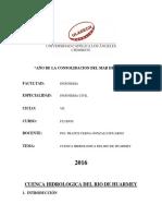 Cuenca Hidrologica Del Rio de Huarmey