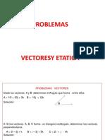 Ejercicios Vectores y Estatica -Casa