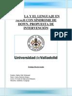 EL HABLA Y EL LENGUAJE EN NIÑOS CON SÍNDROME DE DOWN. PROPUESTA DE INTERVENCIÓN.pdf