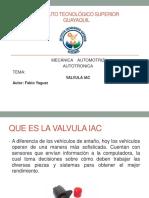 VALVULA-IAC