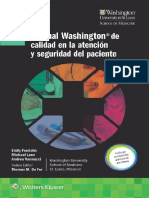 Manual Washington de Calidad en La Atención y Seguridad Del Paciente - Thomas M. de Fer & Emily Fondahn & Michael Lane
