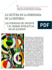 Aisenberg - La lectura en la enseñanza de la Historia (2005).pdf
