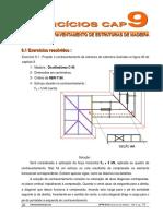 Apostila - Madeira - UFPR - Cap. 9 - Contraventamento de Estruturas de Madeira - Exercícios.pdf
