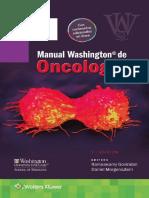 Manual Washington de Oncología 3a Edición - Ramaswamy Govindan & Daniel Morgensztern
