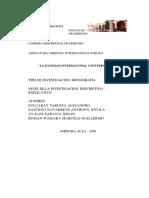 Listo MONOGRAFIA INTERnacional 2018 Indice