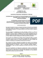 Cumaribo Vichada Pd 2012 - 2015