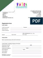 registration form 2017