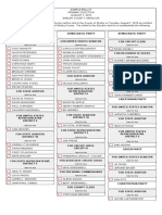 Shelby County Sample Ballot 2018 Primary