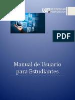 Manual de Usuario Estudiante