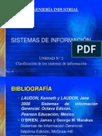 02 Clasificacion de Los Sistemas de Informacion