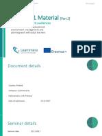 TAU Seminar1 Material Part2