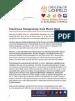 Intentional Discipleship Letter