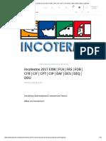 (1) Incoterms 2017 Exw _ Fca _ Fas _ Fob _ Cfr _ Cif _ Cpt _ Cip _ Daf _ Des _ Deq _ Ddu _ Linkedin