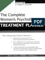 The Complete Women's Psychotherapy Treatment Planner - Julie R. Ancis & Arthur E. Jongsma
