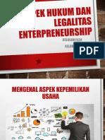 Aspek Hukum Dan Legalitas Enterpreneurship