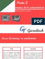 FALLAS MAS COMUNES DE LA PC Y SUS SOLUCIONES PARTE2.pdf