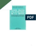 Bateson - Pasos hacia una ecología de la mente (Forma y patología en la relación).pdf