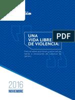 Manual Una Vida Libre de Violencia