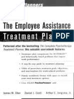 The Employee Assistance Treatment Planner - James M. Oher & Daniel J. Conti & Arthur E. Jongsma