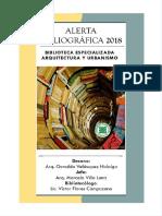 Alerta Bibliografica 2018