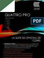 Quattro Pro hoja de calculo