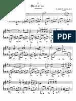 Chopin Nocture Op 72 in Em