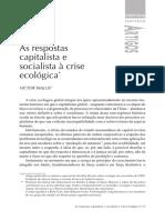 AsRespostasCapitalistaESocialistaACriseEcologica Wallis