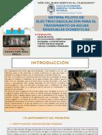Trabajo Electrocoagulador